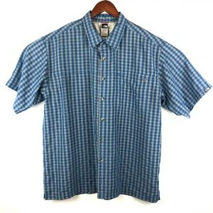 The North Face XL Button Front Short Sleeve Shirt